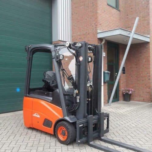 Linde heftruck E14-01 Triplex