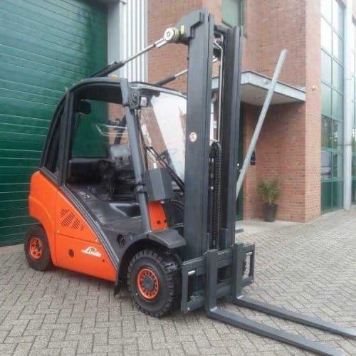 Linde Diesel heftruck H25D Triplex 5950mm s.s (392)