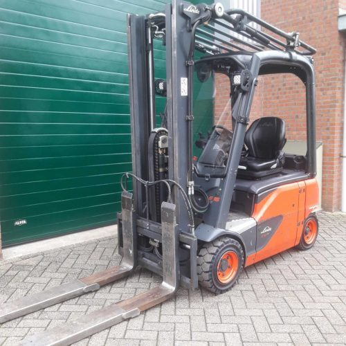 Linde E16P-02evo Triplex mast 4900mm met side-shift
