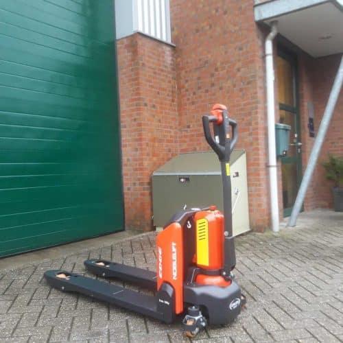 Elektrische pallettruck PTE15N Nieuw.!