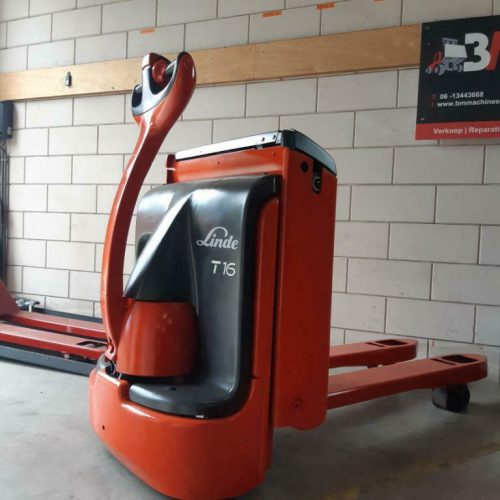 Electric pallet truck Linde T16