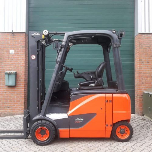 Linde E20PH-02 (386) EVO Triplex 4650mm side-shift.